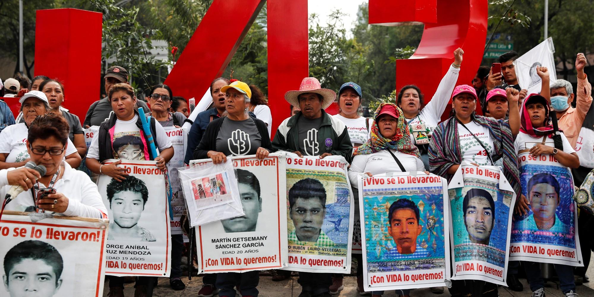 Se acabó la verdad histórica de Ayotzinapa