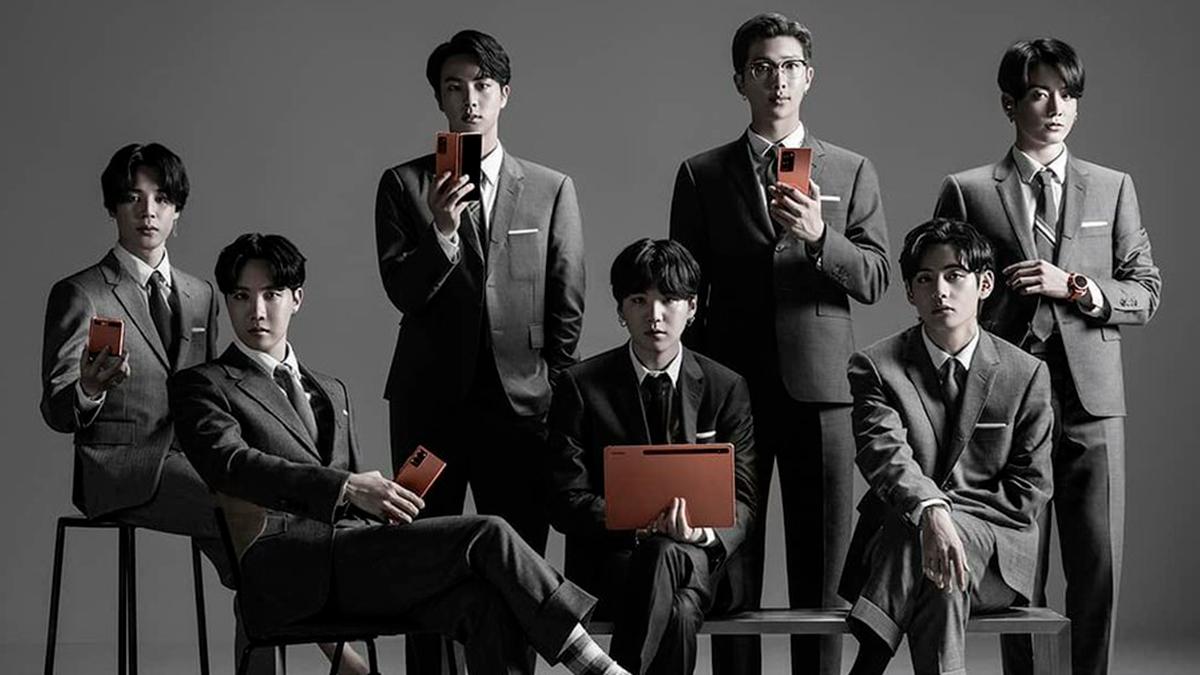 BTS hace un cameo en el lanzamiento de Samsung