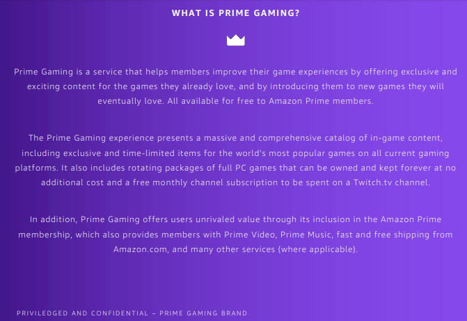 Twitch Prime cambia