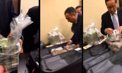 Filtran VÍDEO de ExFuncionario del Senado recibiendo bolsas de billetes
