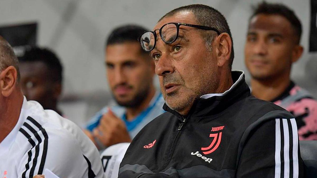 La Juventus despide a Maurizio Sarri