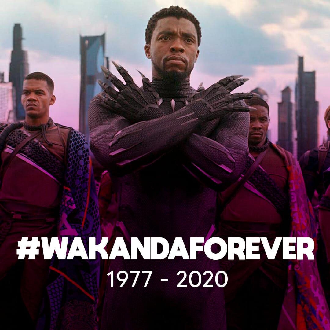 #WakandaForever