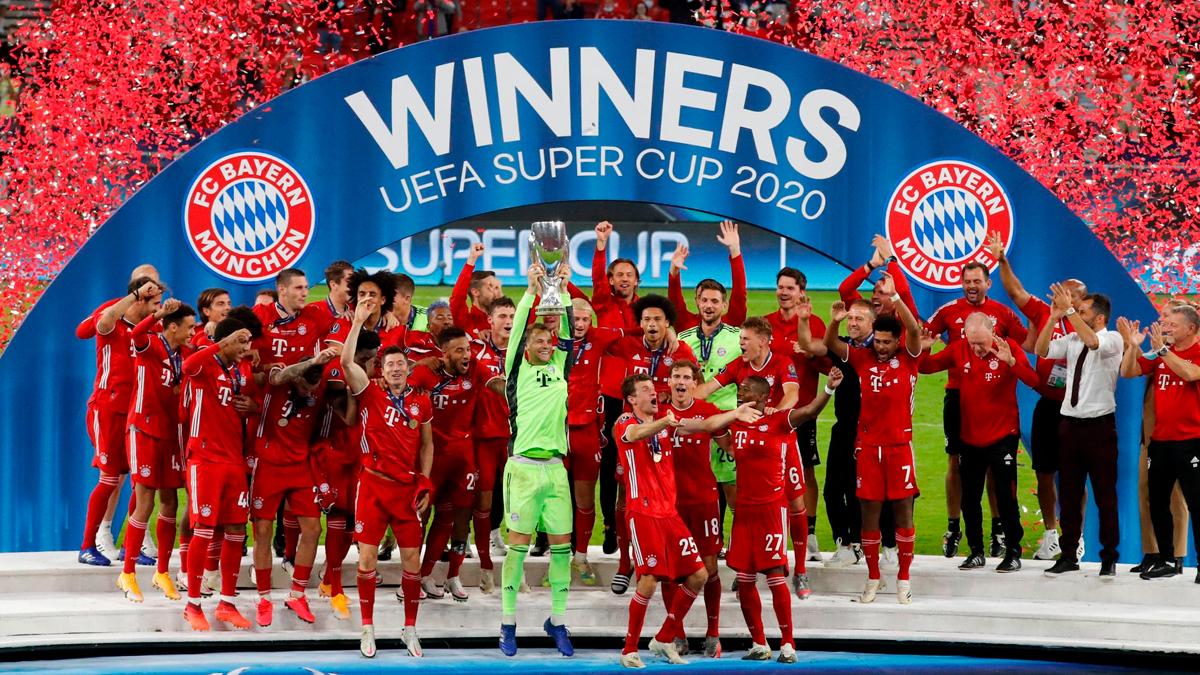 Bayern Múnich derrota a Sevilla y se queda con la Supercopa