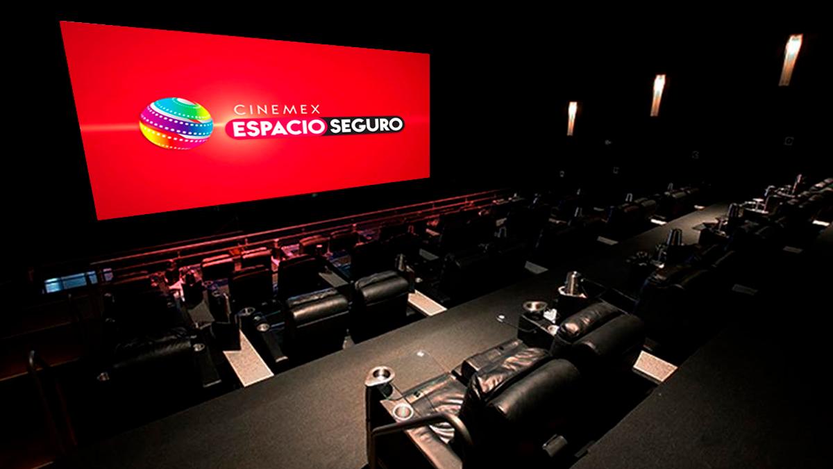 Cinemex renta sus salas platino para ti y tus amigos.