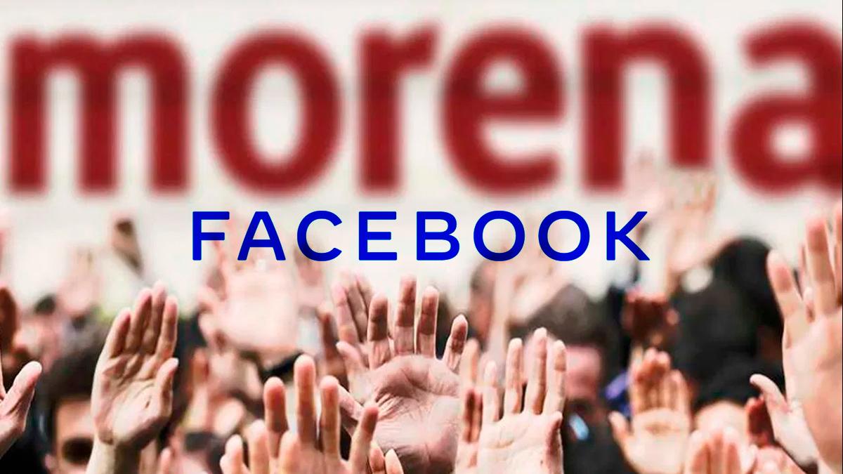 Facebook eliminó cuentas que atacaban a Morena en México