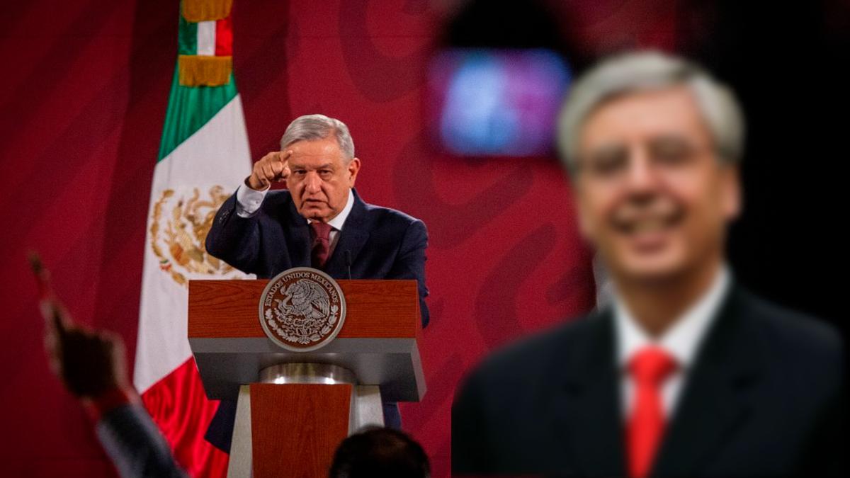 """Jaime Cárdenas """"no quiso entrarle"""" al combate a la corrupción en el Indep, responde AMLO"""