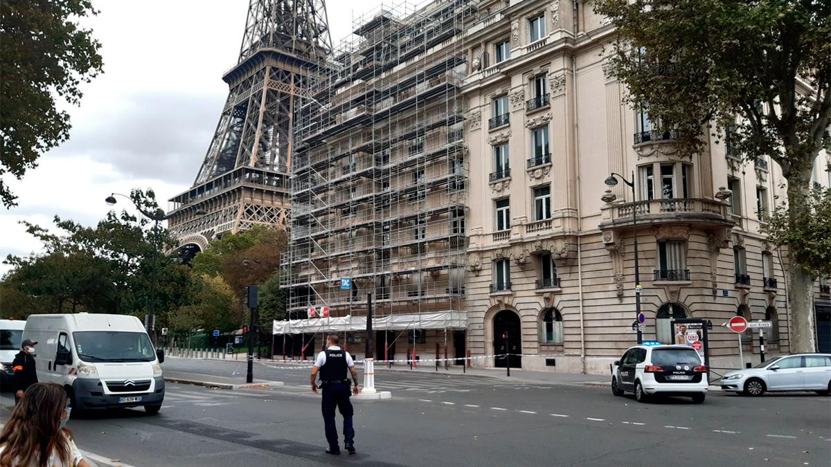 La Torre Eiffel fue evacuada por amenaza de bomba
