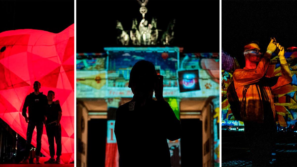 Mira las mejores fotos del espectacular Festival de luces de Berlín