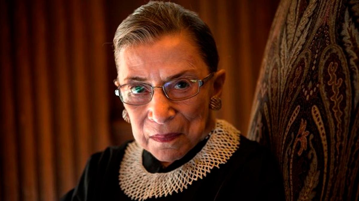 Muere Ruth Bader Ginsburg jueza de la Corte Suprema de Estados Unidos