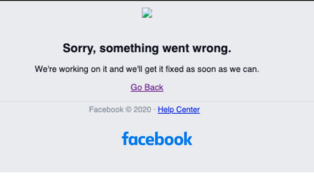 Caída masiva de facebook e Instagram