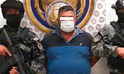 """Adán """"N"""" alias """"El Azul"""", líder del Cártel de Santa Rosa de Lima es detenido en Celaya"""