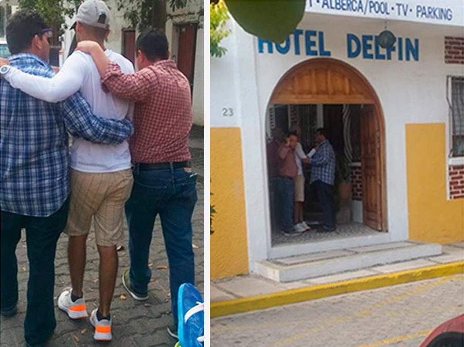 Así fue detenido Diego Urik en Jalisco sospechoso del asesinato de Jessica González