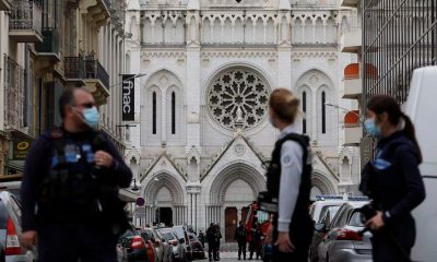 Ataque en a catedral de Niza, Francia