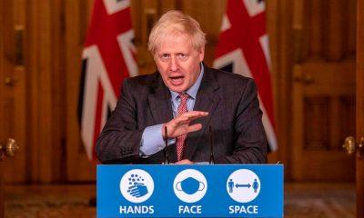 Boris Johnson primer ministro británico, anuncia nuevo confinamiento en Inglaterra