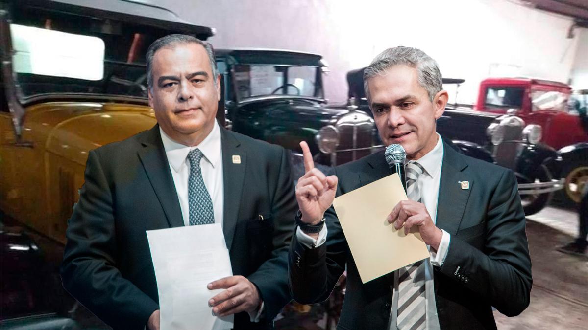 Catean casa de Raymundo Collins, ex funcionario de Mancera, aseguran autos clásicos, motos y obras de arte