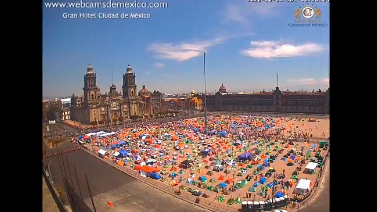 ¿Realmente FRENA reunió 100 mil personas en el Zócalo?
