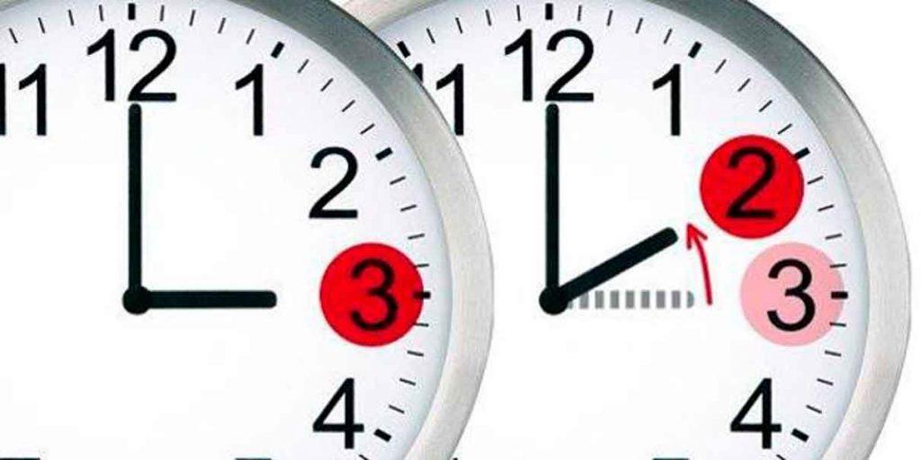 Recuerda cambiar el horario a tu reloj pero