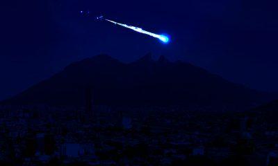 Reportan el avistamiento de un meteorito en Monterrey, Nuevo León