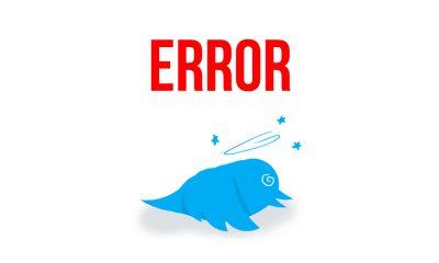 Twitter Down, Usuarios reportan caída del servicio