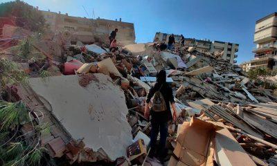 Un fuerte terremoto de 6.9 sacude a Turquía y Grecia