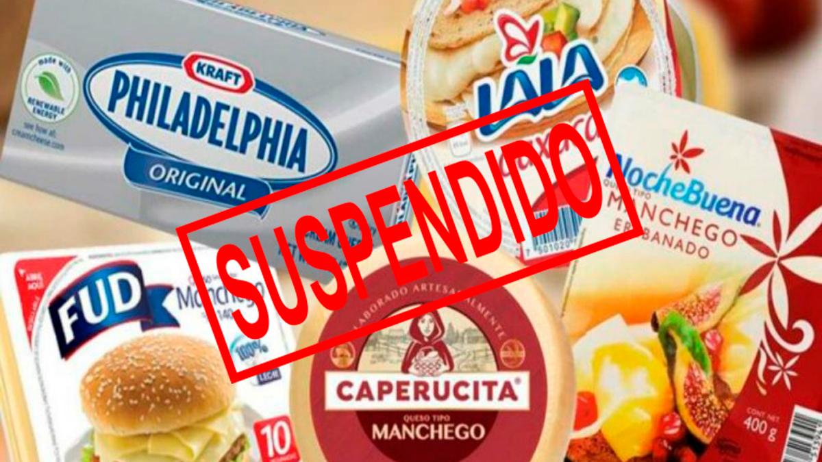 Yogures y Quesos por incumplir normas, se ordena suspender venta inmediata