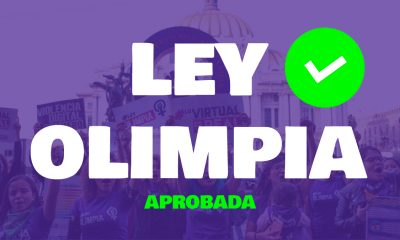 Aprobada la Ley Olimpia a nivel Nacional