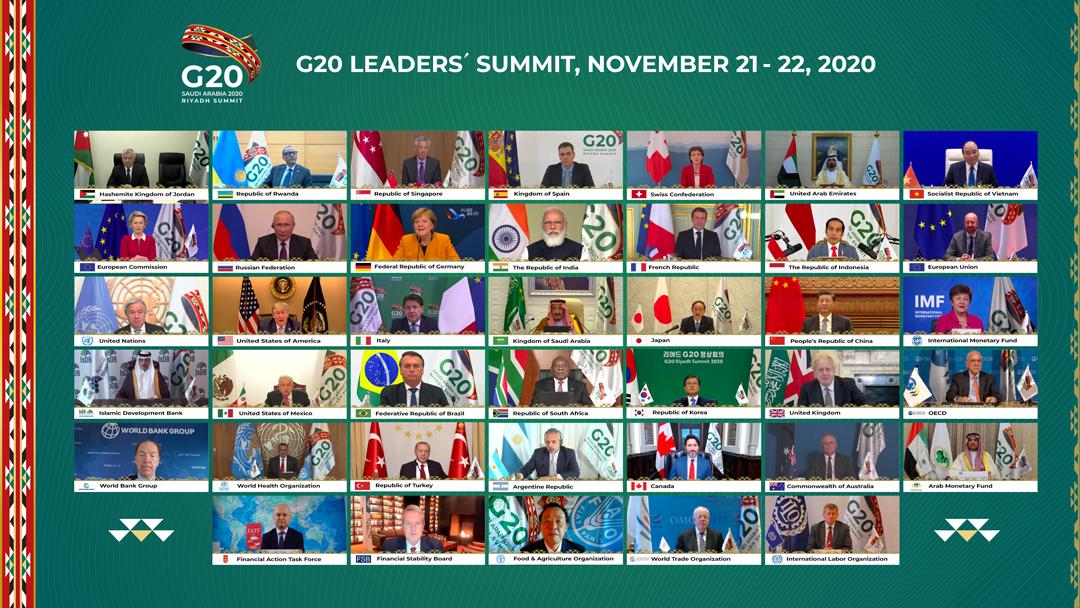 AMLO participa en G20 de manera virtual