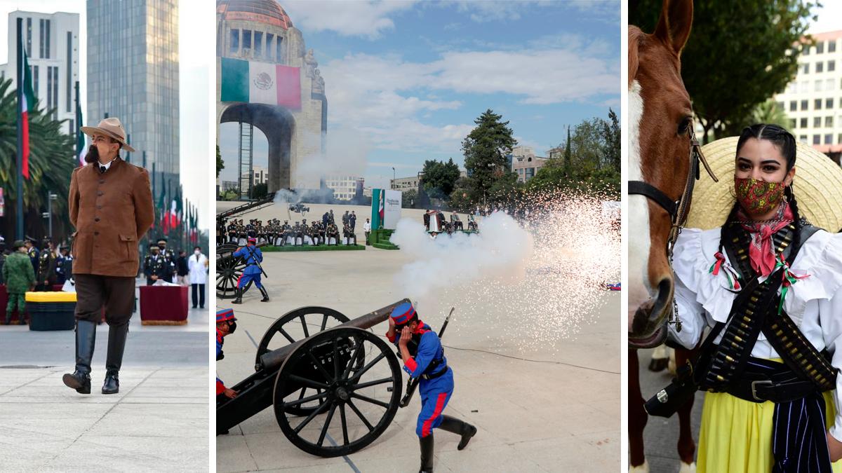 Se conmemora 110 ANIVERSARIO de la Revolución Mexicana