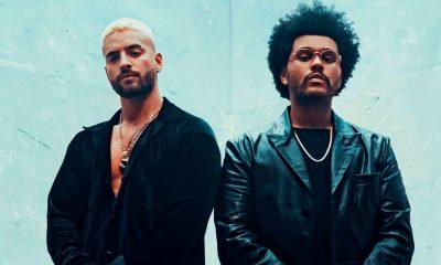 """The Weeknd canta en español por primera vez, junto a Maluma en el remix de """"HAWÁI"""""""