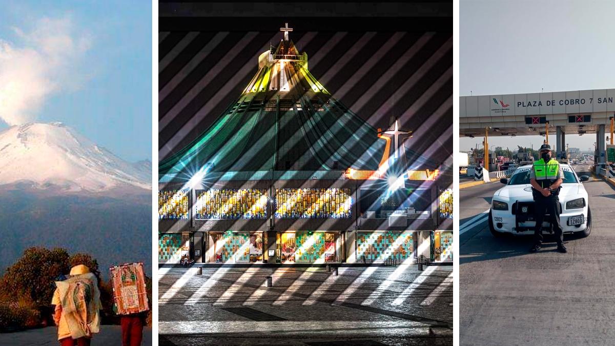 Basílica de Guadalupe estará cerrada así como estas calles y estaciones de transporte