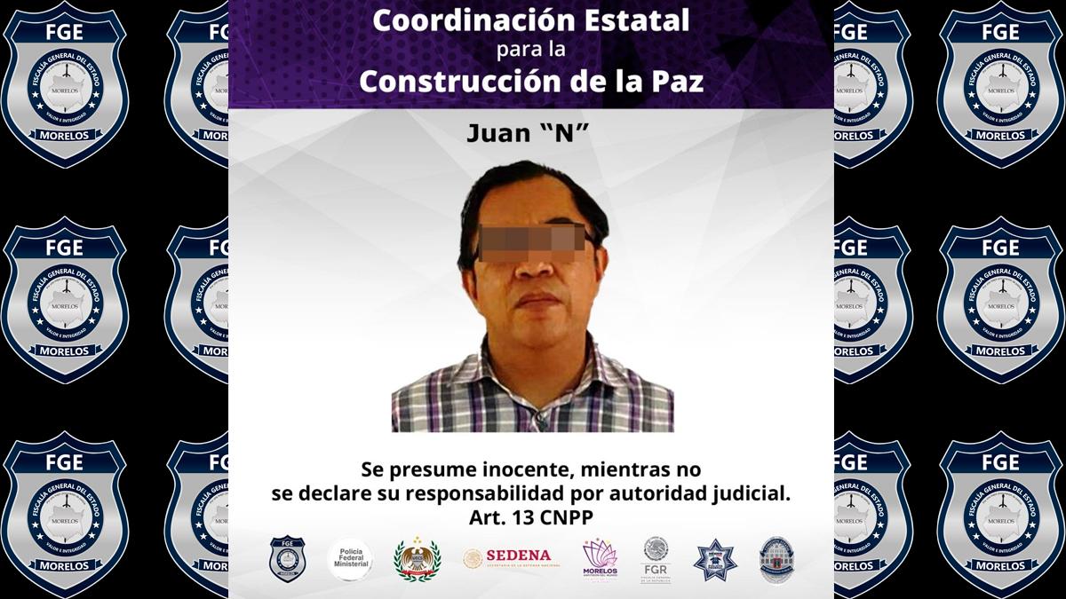 Detienen a médico por abuso sexual a una joven en Morelos