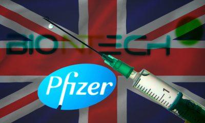 El Reino Unido autoriza vacuna contra COVID-19 de Pfizer y BioNTech