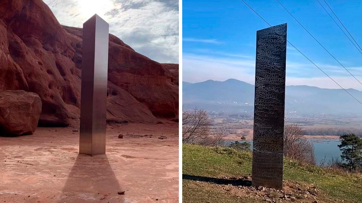 El misterioso monolito del desierto de Utah y de Rumania