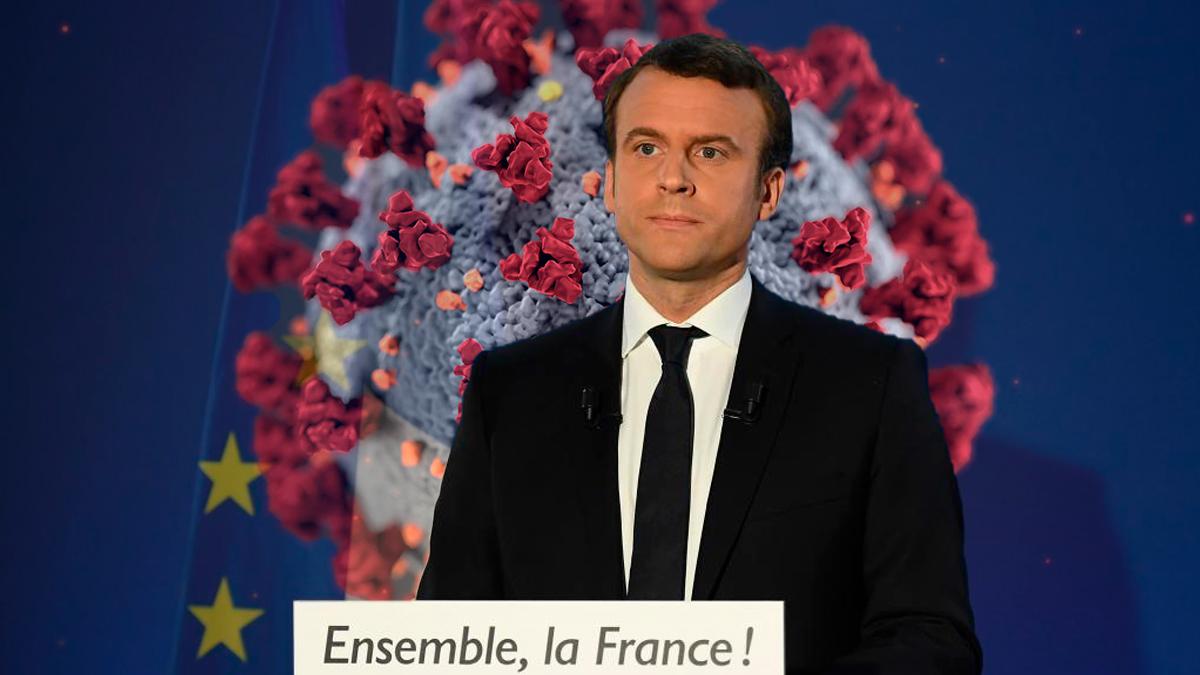 Emmanuel Macron, presidente de Francia, da positivo a Coronavirus