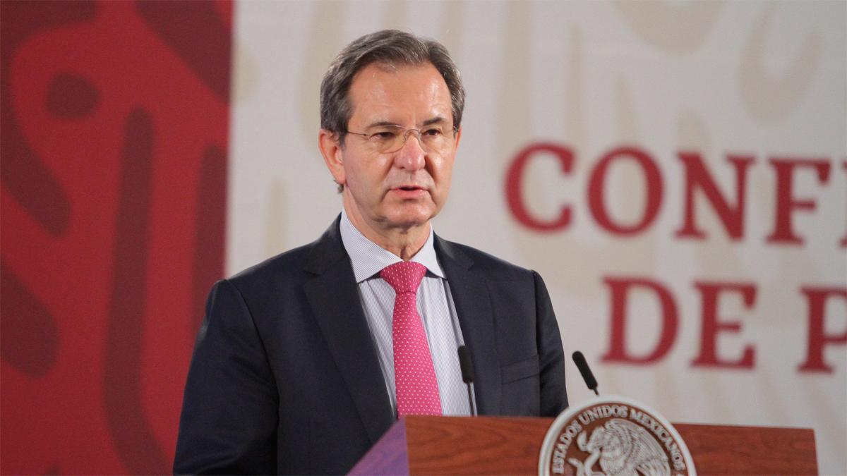 Esteban Moctezuma, actual titular de la SEP, es propuesto por AMLO como Embajador de México en EU