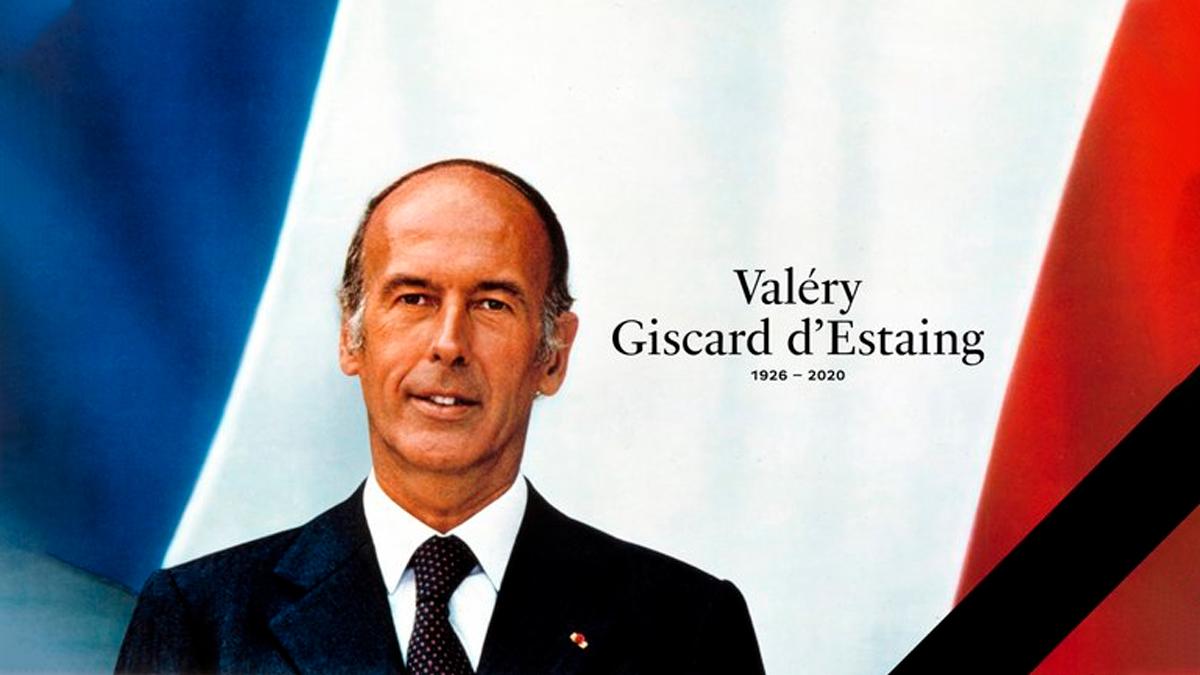 Fallece el ExPresidente Valéry Giscard d'Estaing de Francia