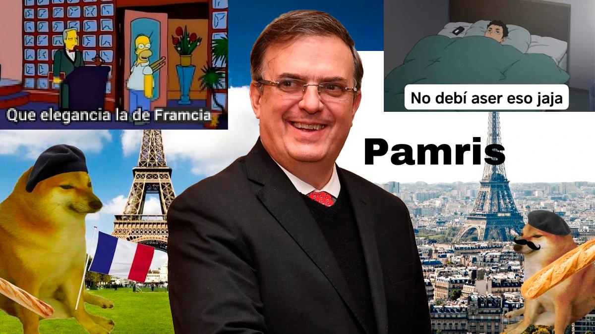 Framcia ó ¿Francia? tuit de Ebrard genera muchos MEMES