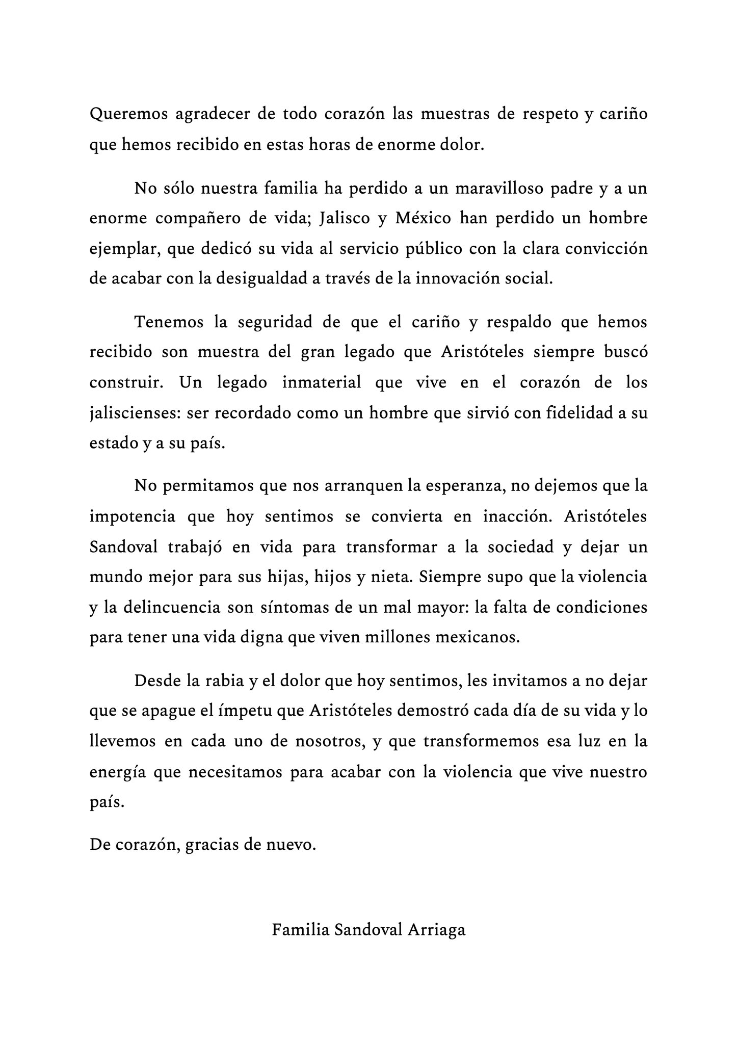 Fue asesinado Aristoteles Sandoval exgobernador de Jalisco 1