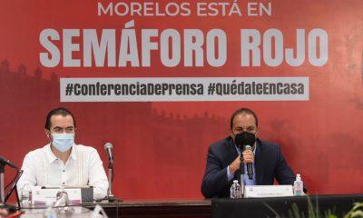 Morelos regresa a ROJO en el semáforo epidemiológico por Covid-19, anuncia Cuauhtémoc Blanco
