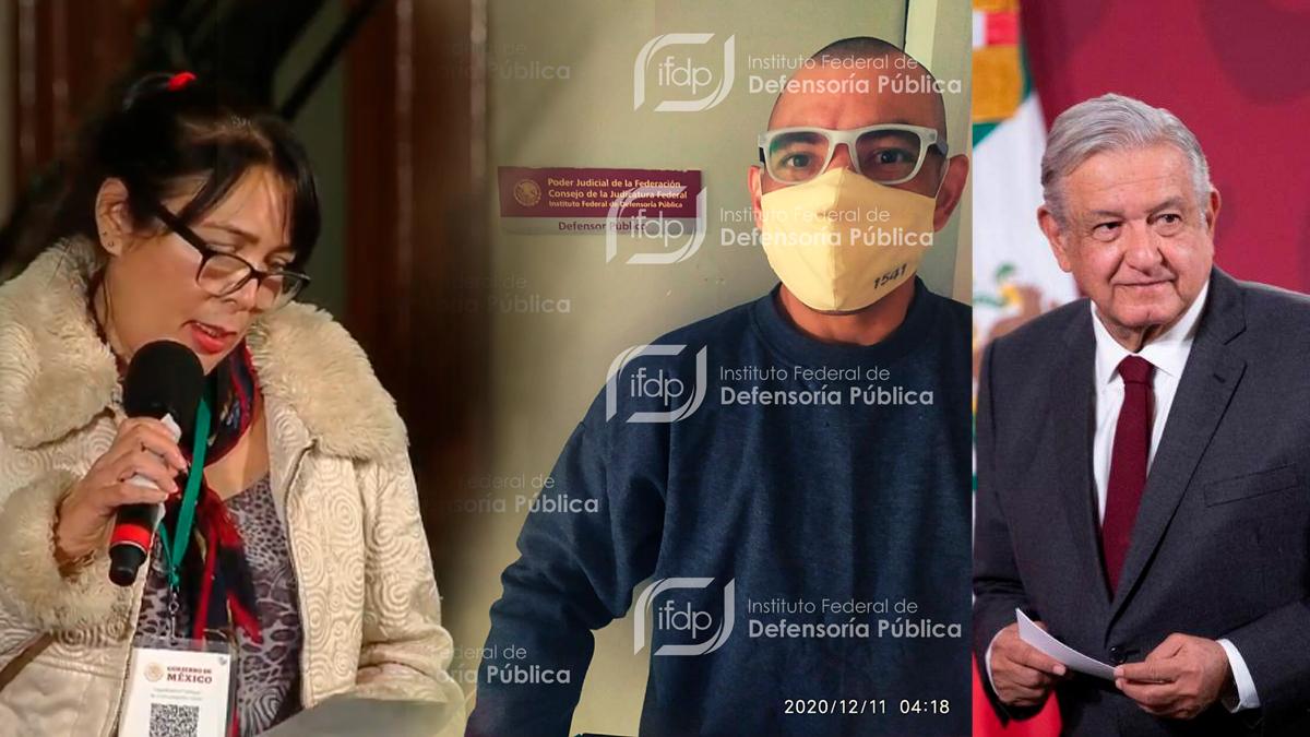 Rafael Méndez en libertad hijo de la periodista que pidió ayuda a AMLO