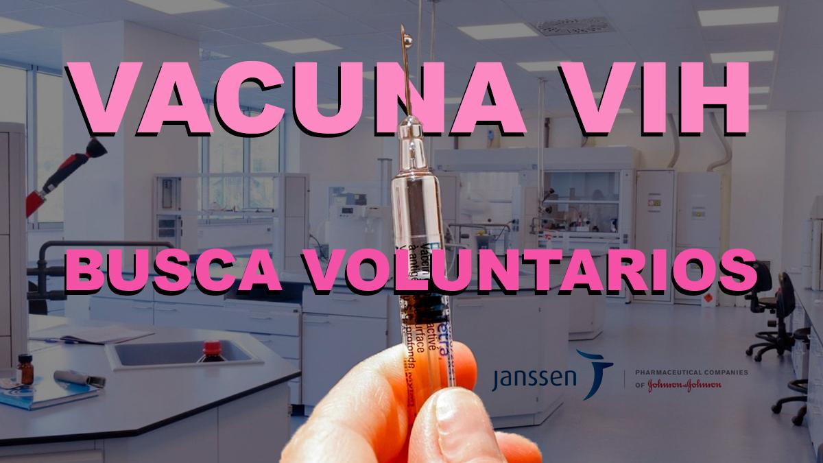Vacuna contra el VIH de Janssen Pharmaceutica llega a su última fase de ensayos