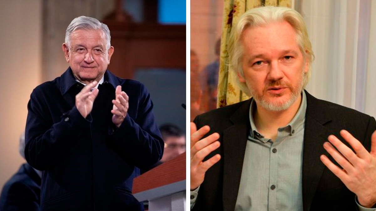 AMLO ofrece asilo político Julian Assange