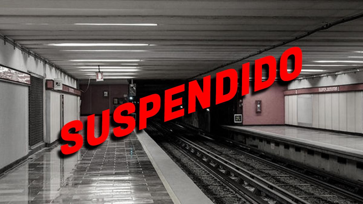 Fuera de servicio 6 líneas del Metro de la CDMX