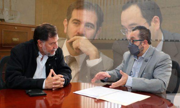 Gerardo Fernández Noroña presenta denuncia de juicio político contra Lorenzo Córdova y Ciro Murayama