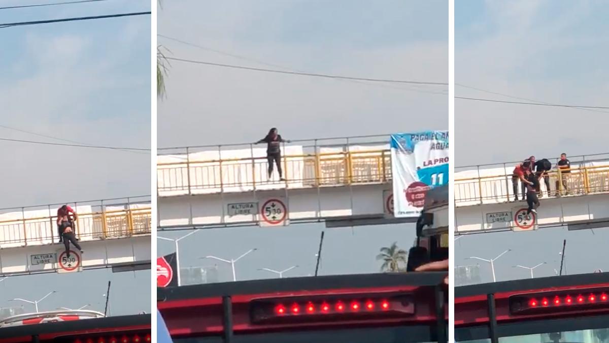 Heroico Bombero de Temixco, Morelos, impidió el suicidio de una mujer