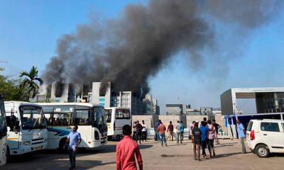 Incendio en la mayor fábrica de vacunas contra el Covid19 del mundo, India
