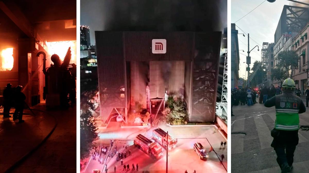 Incendio en un centro de control del Metro; reportan un muerto