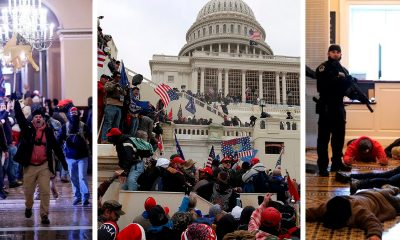 Las imágenes de los disturbios en el Capitolio de EE.UU.