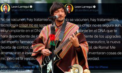 Leon Larregui promueve no vacunarse contra el Covid