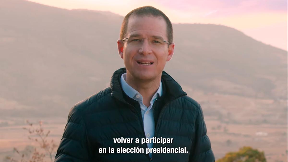 Ricardo Anaya quiere ser candidato presidencial otra vez